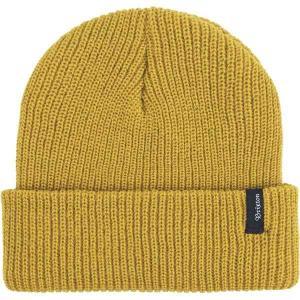 ブリクストン 帽子 メンズ アクセサリー Heist Beanie Mustard astyshop