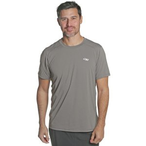 アウトドアリサーチ シャツ メンズ トップス Deception Short-Sleeve T-Shirt - Men's Pewter|astyshop