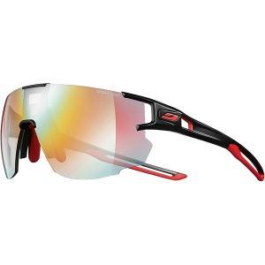 ジュルボ サングラス・アイウェア メンズ アクセサリー Aerospeed Zebra Sunglasses Black/Red/Red-Zebra Light Fire Yellow/Brown|astyshop