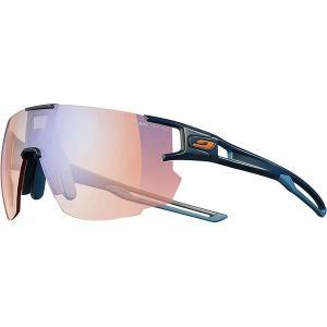 ジュルボ サングラス・アイウェア メンズ アクセサリー Aerospeed Zebra Sunglasses Dark Blue/Dark Blue/Orange-Zebra Light Red Yellow/Brown|astyshop