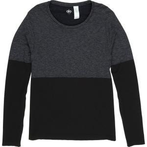 アローヨガ シャツ メンズ トップス Energy Long-Sleeve Crew Shirt BLAHE|astyshop