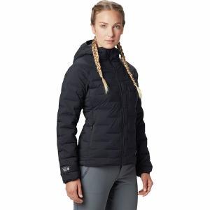 マウンテンハードウェア ジャケット・ブルゾン レディース アウター Super DS Stretchdown Hooded Jacket - Women's Black|astyshop