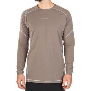 ラスポルティバ シャツ メンズ トップス Future Long-Sleeve T-Shirt - Men's reddish‐brown Brown|astyshop