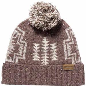 ペンドルトン 帽子 メンズ アクセサリー Hat +Pom Pom Harding Brown astyshop