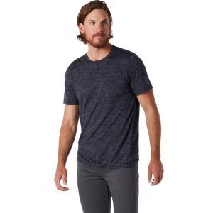 スマートウール シャツ メンズ トップス Everyday Exploration Short-Sleeve Henley Shirt - Men's Deep Navy Heather|astyshop