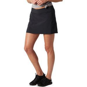 スマートウール スカート レディース ボトムス Merino Sport Lined Skirt - Women's Black|astyshop