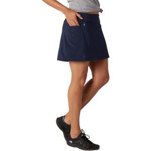 スマートウール スカート レディース ボトムス Merino Sport Lined Skirt - Women's Deep Navy|astyshop