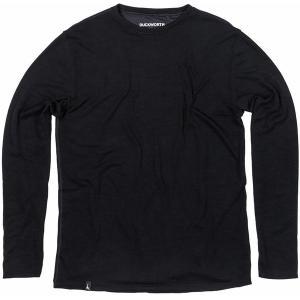 ダックワース Tシャツ メンズ トップス Comet Crew Long-Sleeve Shirt - Men's Black astyshop