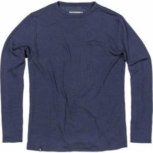 ダックワース Tシャツ メンズ トップス Comet Crew Long-Sleeve Shirt - Men's Midnight astyshop
