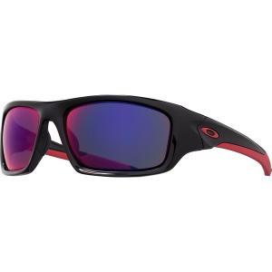 オークリー サングラス・アイウェア メンズ アクセサリー Valve Sunglasses - Men's Polished Black/Red Irid|astyshop