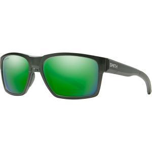 スミス サングラス・アイウェア メンズ アクセサリー Caravan Mag Chromapop Polarized Sunglasses Matte Crystal Elm Green/Green Mirror|astyshop