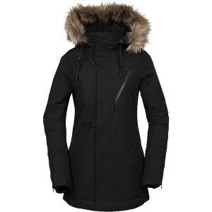 ボルコム ジャケット・ブルゾン レディース アウター Fawn Insulated Jacket - Women's Black|astyshop