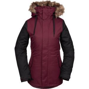 ボルコム ジャケット・ブルゾン レディース アウター Fawn Insulated Jacket SCA|astyshop