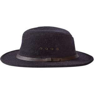 フィルソン 帽子 レディース アクセサリー Wool Packer Hat Charcoal|astyshop
