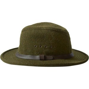 フィルソン 帽子 レディース アクセサリー Wool Packer Hat Forest Green|astyshop