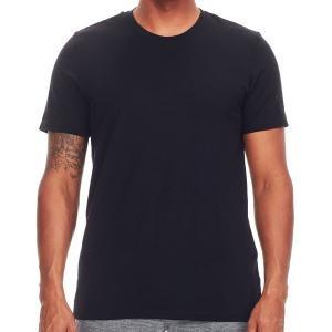 アイスブレーカー シャツ メンズ トップス Tech Lite Short-Sleeve Crew Shirt - Men's Black|astyshop
