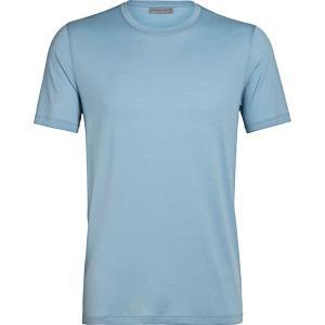 アイスブレーカー シャツ メンズ トップス Tech Lite Short-Sleeve Crew Shirt - Men's Waterfall|astyshop