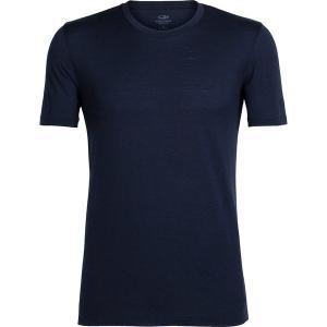 アイスブレーカー シャツ メンズ トップス Tech Lite Short-Sleeve Crew Shirt - Men's Midnight Navy|astyshop