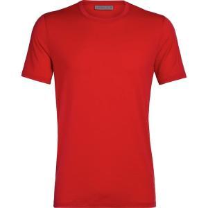 アイスブレーカー シャツ メンズ トップス Tech Lite Short-Sleeve Crew Shirt - Men's Rocket|astyshop
