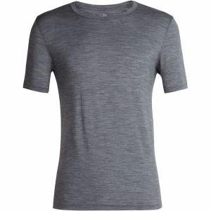 アイスブレーカー シャツ メンズ トップス Tech Lite Short-Sleeve Crew Shirt - Men's Gritstone Heather|astyshop