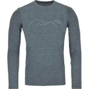 オルトボックス Tシャツ メンズ トップス 185 Merino Mountain Long-Sleeve Baselayer - Men's Green Forest Blend astyshop
