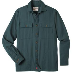 マウンテンカーキス シャツ メンズ トップス Patrol Overshirt - Men's Wintergreen|astyshop