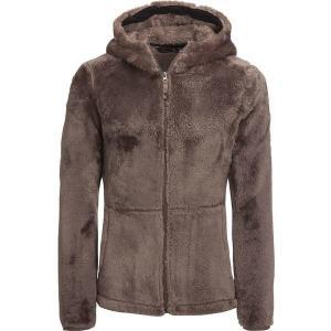 ストイック ジャケット・ブルゾン レディース アウター Hooded Zip-Up Fuzzy Fleece Jacket - Women's Vintage Brown|astyshop