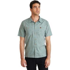 ヒッピーツリー シャツ メンズ トップス El Cap Woven Shirt - Men's Sage|astyshop