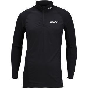 スウィックス Tシャツ メンズ トップス RaceX Bodywear 1/2-Zip Wind Top - Men's Black astyshop