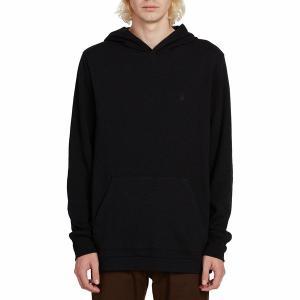 ボルコム パーカー・スウェットシャツ メンズ アウター Wallace Thermal Shirt - Men's Black|astyshop