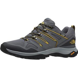 ノースフェイス スニーカー メンズ シューズ Hedgehog Fastpack II Waterproof Wide Hiking Shoe - Men's Zinc Grey/Bamboo Yellow astyshop