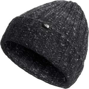 ノースフェイス 帽子 メンズ アクセサリー Chunky Rib Beanie TNF Black astyshop