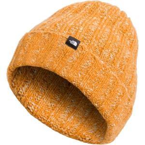ノースフェイス 帽子 メンズ アクセサリー Chunky Rib Beanie Citrine Yellow astyshop