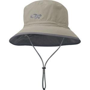 アウトドアリサーチ 帽子 メンズ アクセサリー Sun Bucket Hat - Men's Khaki/Dark Grey astyshop