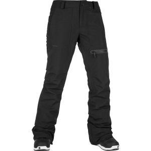 ボルコム カジュアルパンツ レディース ボトムス Knox Insulated Gore Pant - Women's Black|astyshop