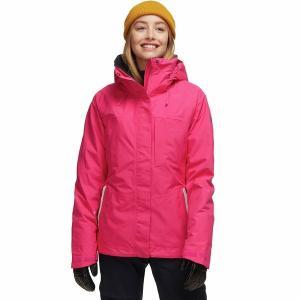 ロキシー ジャケット・ブルゾン レディース アウター Wilder 2L Gore-Tex Hooded Jacket - Women's Beetroot Pink|astyshop