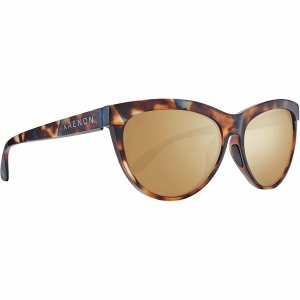 カエノン サングラス&アイウェア レディース アクセサリー Madera Polarized Sunglasses - Women's Oasis/Brown-Gold Mirror|astyshop