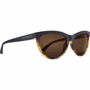 カエノン サングラス&アイウェア レディース アクセサリー Madera Polarized Sunglasses - Women's Matte Black Tortoise/Grey|astyshop