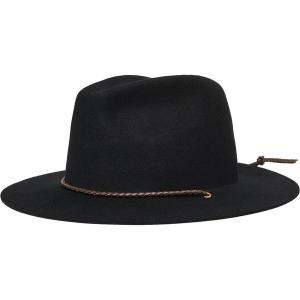 ブリクストン 帽子 メンズ アクセサリー Freeport Fedora Black astyshop
