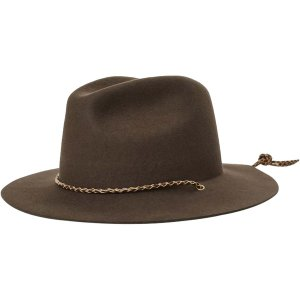 ブリクストン 帽子 メンズ アクセサリー Freeport Fedora Chocolate astyshop
