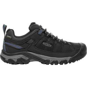 キーン スニーカー メンズ シューズ Targhee Exp Waterproof Hiking Shoe Black/Steel Grey astyshop