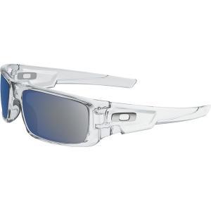 オークリー サングラス・アイウェア メンズ アクセサリー Crankshaft Sunglasses - Men's Polished Clear/Ice Irid|astyshop