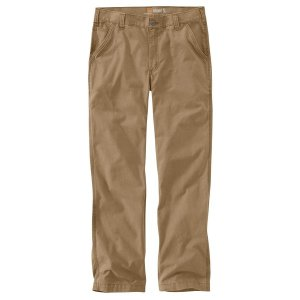 カーハート カジュアル メンズ ボトムス Rugged Flex Rigby Dungaree Pant - Men's Dark Khaki|astyshop