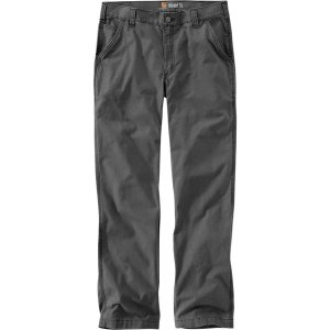 カーハート カジュアル メンズ ボトムス Rugged Flex Rigby Dungaree Pant - Men's Gravel|astyshop