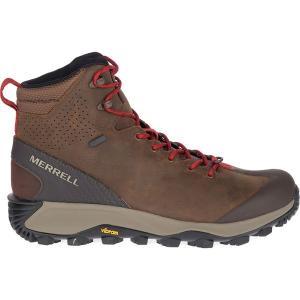 メレル ブーツ&レインブーツ メンズ シューズ Thermo Glacier Mid WP Boot - Men's Earth|astyshop