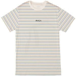 ルーカ Tシャツ メンズ トップス Ruff Stripe T-Shirt - Men's Antique White astyshop