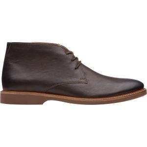 クラークス ブーツ&レインブーツ メンズ シューズ Atticus Limit Boot - Men's Dark Brown Leather|astyshop