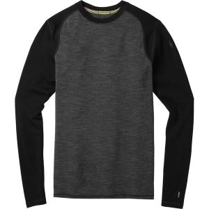 スマートウール Tシャツ メンズ トップス Merino 250 Baselayer Pattern Crew - Men's  Black/Black astyshop