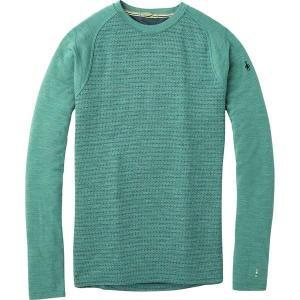 スマートウール Tシャツ メンズ トップス Merino 250 Baselayer Pattern Crew - Men's  Pine Gray Tick Stitch astyshop