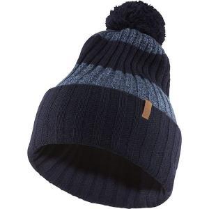フェールラーベン 帽子 メンズ アクセサリー Byron Solid Pom Hat Dark Navy astyshop